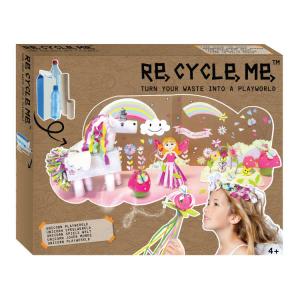 Playworld Unicorni XL Set Gioco Ecologico per Bambina Re-Cycle-Me