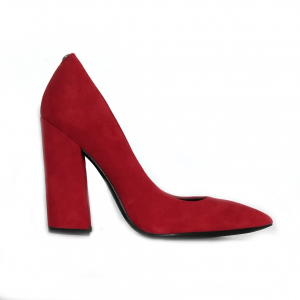 Decollete rosso Guess