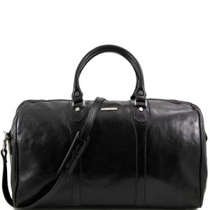 Tuscany Leather TL1044 Oslo - Sac de voyage en cuir Noir