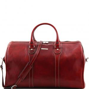 Tuscany Leather TL1044 Oslo - Sac de voyage en cuir Rouge