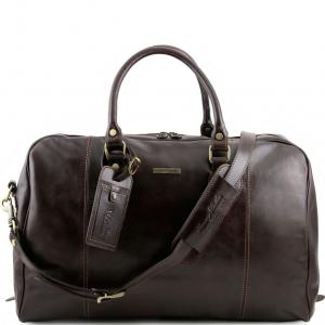 Tuscany Leather TL141218 TL Voyager - Sac de voyage en cuir Marron foncé