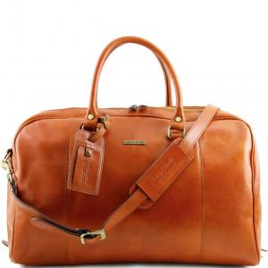 Tuscany Leather TL141218 TL Voyager - Sac de voyage en cuir Miel