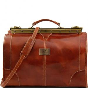 Tuscany Leather TL1023 Madrid - Sac de voyage en cuir - Petit modèle Miel