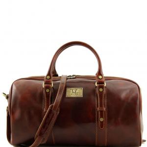 Tuscany Leather TL140935 Francoforte - Sac de voyage en cuir - Petit modèle Marron