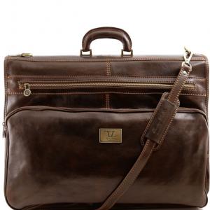 Tuscany Leather TL3056 Papeete - Housse de transport vêtements Marron foncé