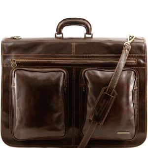 Tuscany Leather TL3030 Tahiti - Housse de transport vêtements Marron foncé