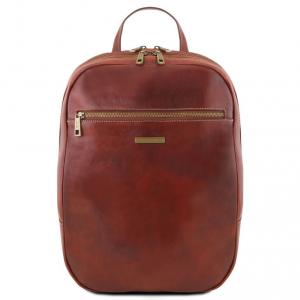 Tuscany Leather TL141711 Osaka - Zaino porta notebook in pelle Marrone