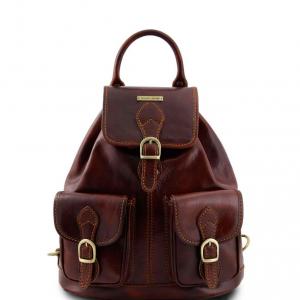 Tuscany Leather TL9035 Tokyo - Zaino in pelle Marrone