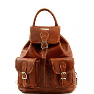 Tuscany Leather TL9035 Tokyo - Zaino in pelle Miele