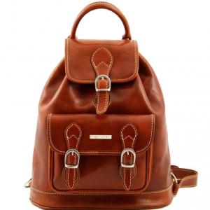 Tuscany Leather TL9039 Singapore - Leather - Backpack Honey