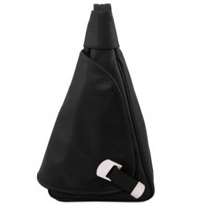 Tuscany Leather TL140966 Hanoi - Leather backpack Black