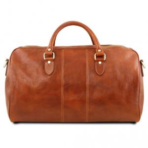 Tuscany Leather TL141659 Lisbona - Set da viaggio in pelle Miele