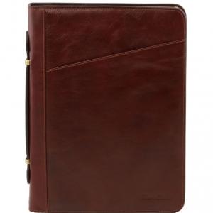 Tuscany Leather TL141295 Costanzo - Exclusif conférencier en cuir Marron