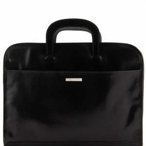 Tuscany Leather TL141022 Sorrento - Document Leather briefcase Black