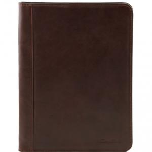 Tuscany Leather TL141294 Ottavio - Esclusivo portadocumenti in pelle Testa di Moro