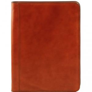 Tuscany Leather TL141294 Ottavio - Porte-document en cuir Miel