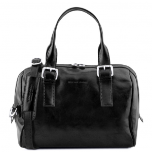Tuscany Leather TL141714 Eveline - Bauletto in pelle Nero