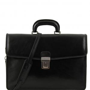 Tuscany Leather TL10050 Amalfi - Cartella in pelle 1 scomparto Nero