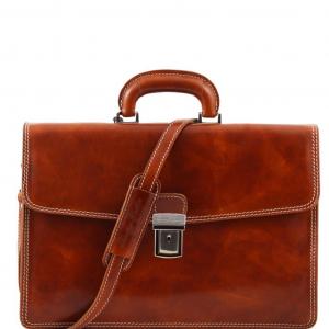 Tuscany Leather TL10050 Amalfi - Cartella in pelle 1 scomparto Miele