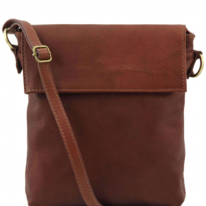 Tuscany Leather TL141511 Morgan - Sac bandoulière en cuir Marron