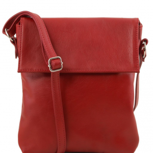 Tuscany Leather TL141511 Morgan - Sac bandoulière en cuir Rouge