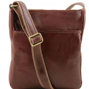 Tuscany Leather TL141300 Jason - Sac bandoulière en cuir Marron