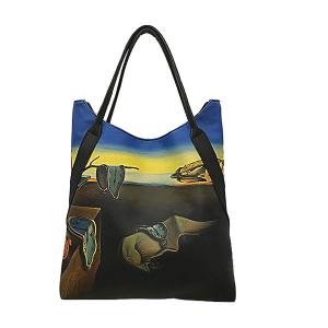 Merinda Line Art Woman Shoulder Bag