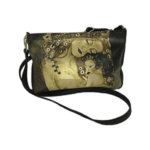 Merinda Art Line Shoulder Bag with strap