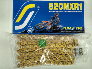 CATENA 520 MX RACING CROSS SUNSTAR SS520MXR1-120G
