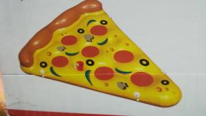Materassino gonfiabile pizza