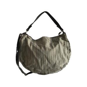 Trendy Woman Line Fabric Bag