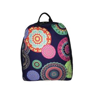 Woman Merinda Flowers Embroidery Backpack