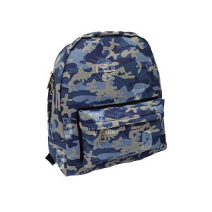 Merinda Military Print Backpack