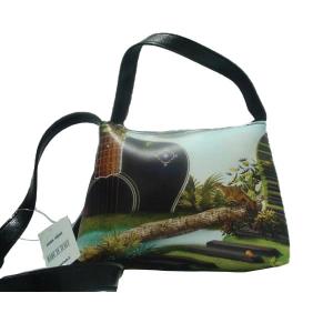 Women Trendy line shoulder bag