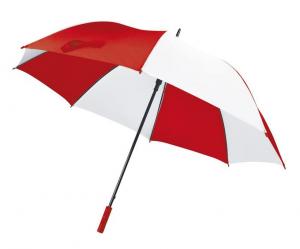 Ombrello Golf Bianco Rosso cm.127x127x96,5h