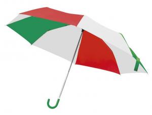 Ombrello pieghevole Bandiera Italiana cm.97x97x60h