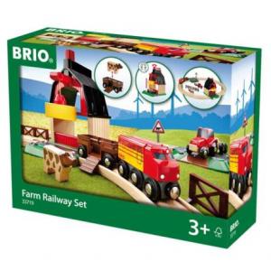 BRIO set ferrovia della fattoria 33719 RAVENSBURGER