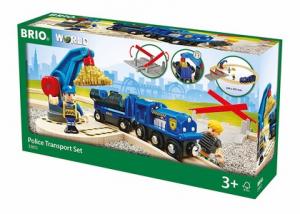 BRIO set ferroviario della polizia 33812 RAVENSBURGER