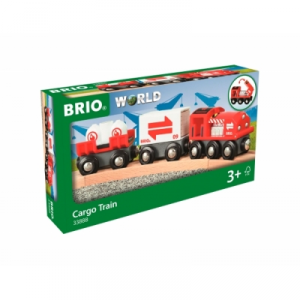 BRIO treno merci rosso 33888 RAVENSBURGER