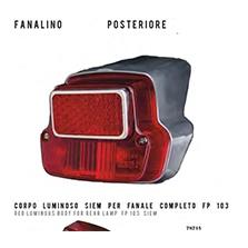Fanale posteriore SIEM per PIAGGIO Vespa 50 FP103