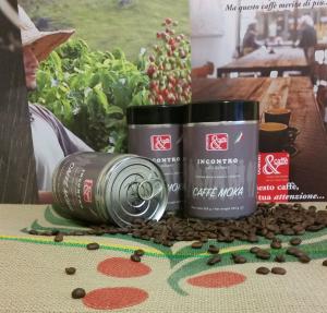 BARATTOLO GR 250 CAFFE' MOKA MISCELA INCONTRO ARABICA/ROBUSTA