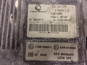 ECU Centralina LPG Landi Renzo Fiat G. Punto 1.2 616572000