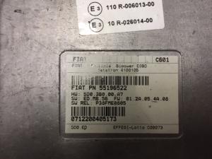 Ecu Centralina Fiat Multipla  55196522 Metatron
