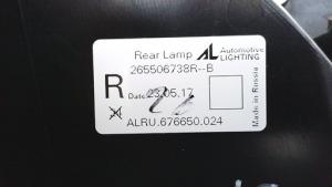 Fanale posteriore esterno destro dx usato originale Renault Captur serie dal 2013>