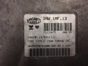 ECU Centralina Motore Magneti Marelli Fiat Bravo Brava Marea 46456550, 61600.228.05, IAW 1AF.13