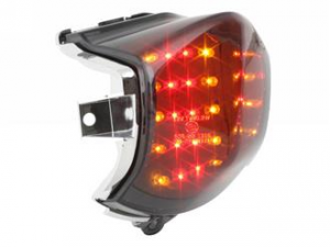 FANALINO STOP STR8 BLACK-LINE A LED SCOOTER APRILIA SR FACTORY STR-656.05/CE