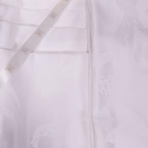 Tovaglia LAURA BIAGIOTTI 150x270 cm in fiandra con 12 tovaglioli Adele bianco