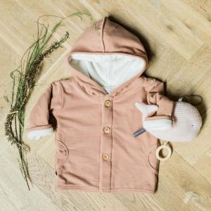 Cardigan invernale con cappuccio per neonato e bambino Bamboom