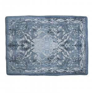 Caleffi Scaldotto plaid imbottito per divano 130x170 cm CONFORT blu notte