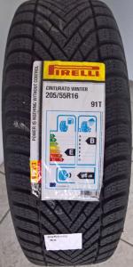 Ruota lega con pneumatico invernale Pirelli 205/55R16 91T Fiat Tipo
